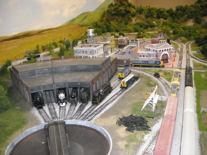 Model Train Display - small